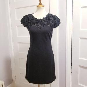Esley Embellished Top Knit Dress, Size S